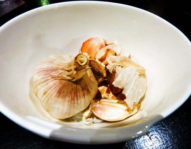 Garlic at Shoryu