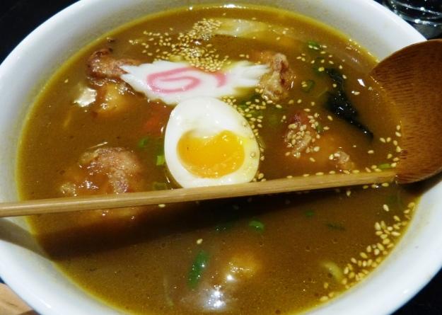 Soy Curry Ramen at Shoryu