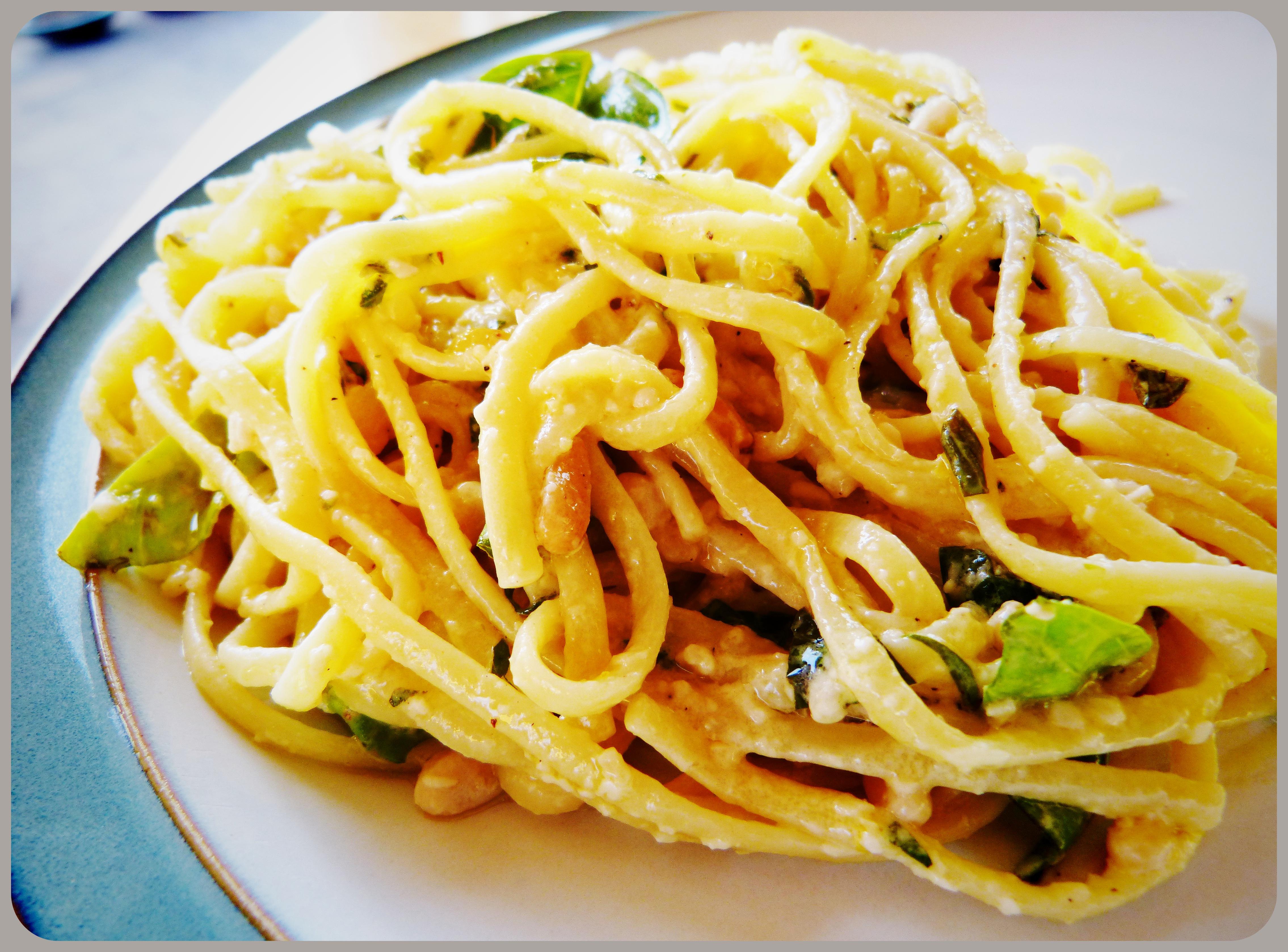 Nearly Pesto Pasta