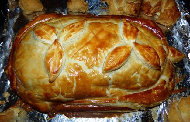 Cooked Beef Wellington